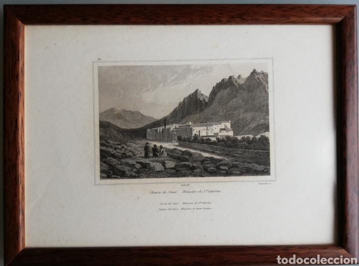Arte: 14 cuadros con GRABADOS ENMARCADOS - 27 cm x 20 cm - marco nogal - cristal mate - MUY BUEN ESTADO - Foto 8 - 195785210