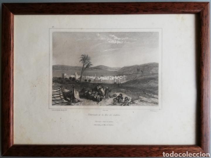 Arte: 14 cuadros con GRABADOS ENMARCADOS - 27 cm x 20 cm - marco nogal - cristal mate - MUY BUEN ESTADO - Foto 10 - 195785210