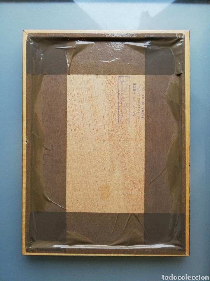 Arte: 14 cuadros con GRABADOS ENMARCADOS - 27 cm x 20 cm - marco nogal - cristal mate - MUY BUEN ESTADO - Foto 16 - 195785210