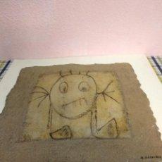 Arte: PLACA ESCULTURA FIRMADA GOSALBEZ. Lote 195798000