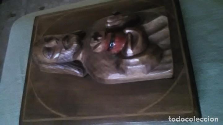 ICONO, JESÚS DEL SAGRADO CORAZON (Arte - Arte Religioso - Escultura)