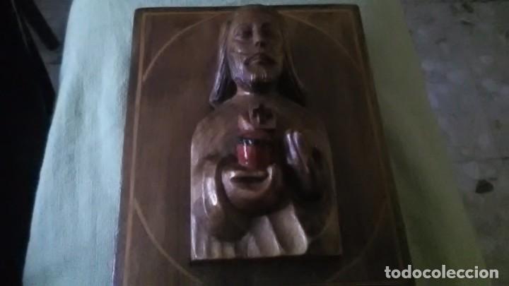 Arte: Icono, Jesús del sagrado corazon - Foto 3 - 196199675