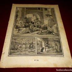 Arte: GRABADO RELIGIOSO - VERDADES ETERNAS - SIGLO XIX.Nº 29. Lote 196279983