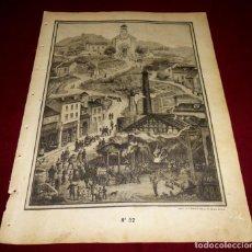 Arte: GRABADO RELIGIOSO - VERDADES ETERNAS - SIGLO XIX.Nº 32. Lote 196280571
