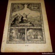 Arte: GRABADO RELIGIOSO - VERDADES ETERNAS - SIGLO XIX.Nº 52. Lote 196281936