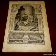 Arte: GRABADO RELIGIOSO - VERDADES ETERNAS - SIGLO XIX.Nº 55. Lote 196282042