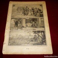 Arte: GRABADO RELIGIOSO - VERDADES ETERNAS - SIGLO XIX.Nº 61. Lote 196282298