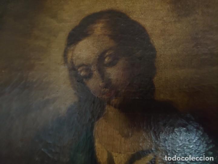 Arte: ÓLEO SOBRE LIENZO INMACULADA CONCEPCIÓN SIGLO XVII - Foto 28 - 188788421