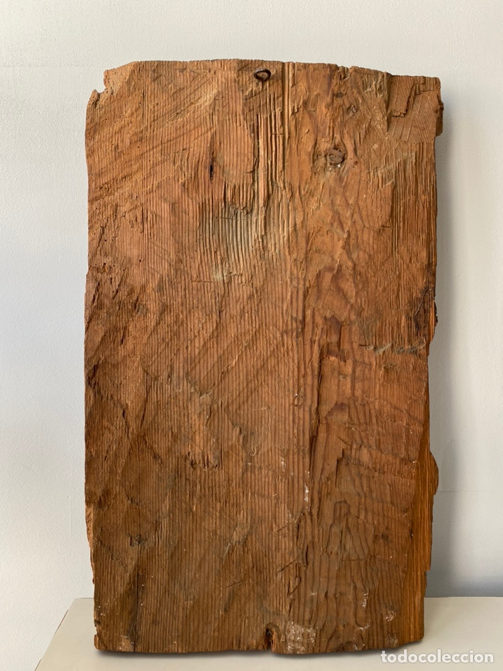 Arte: Retablo madera policromada siglo XVII , relieve Santa Lucía - Foto 18 - 196621257