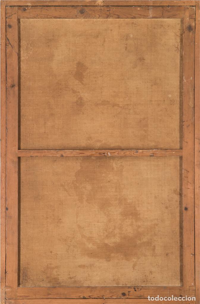 Arte: Óleo lienzo Inmaculada Concepción Ignacio de Ríes Sevilla ca. 1612 - Sevilla 1661 - Foto 4 - 196625065
