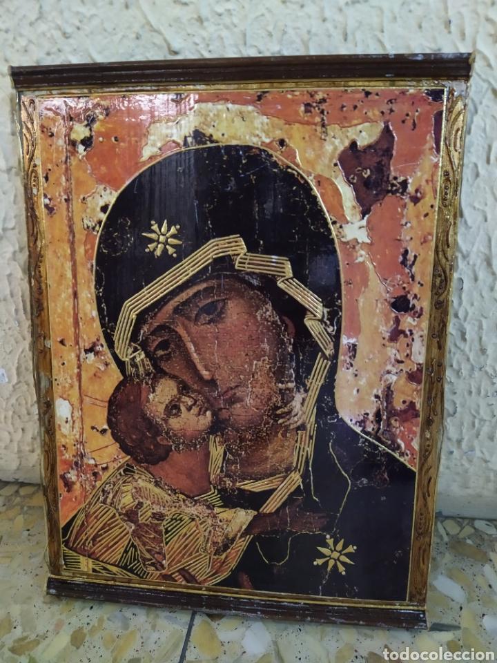 ICONO RELIGIOSO PERPETUO SOCORRO (Arte - Arte Religioso - Pintura Religiosa - Otros)