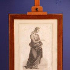 Arte: LA TRES STA VIERGE -RADOREAU DESSINÉE ET GRAVÉE / GRABADO. Lote 196787371