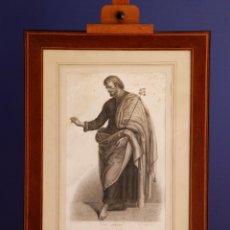 Arte: ST JOSEPH -D' APRES RAPHAEL- RADOREAU DESSINÉE ET GRAVÉE / GRABADO. Lote 196787837