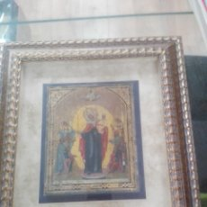 Arte: ATIGUO ICONO POSIBLEMENTE DE NOVGOROD S XVIII-XIX. Lote 196965505