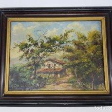 Art: OLEO SOBRE TELA ( RIGAU ) 1947. Lote 197107085
