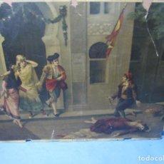 Arte: ANTIGUA LAMINA TEMA TOROS DE CARMEN II Nº 2596 CREO DE PRINCIPIO DE SIGLO XX. Lote 197243137