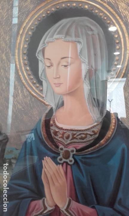 Arte: Bellísima Madonna estilo renacimiento italiano - Foto 3 - 197431465