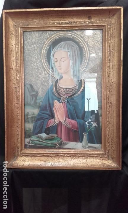 Arte: Bellísima Madonna estilo renacimiento italiano - Foto 4 - 197431465