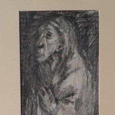 Arte: OTTO GRASSL (1891-1976). LA ORACIÓN, ACUARELA Y DIBUJO DE 1940.. Lote 197468500