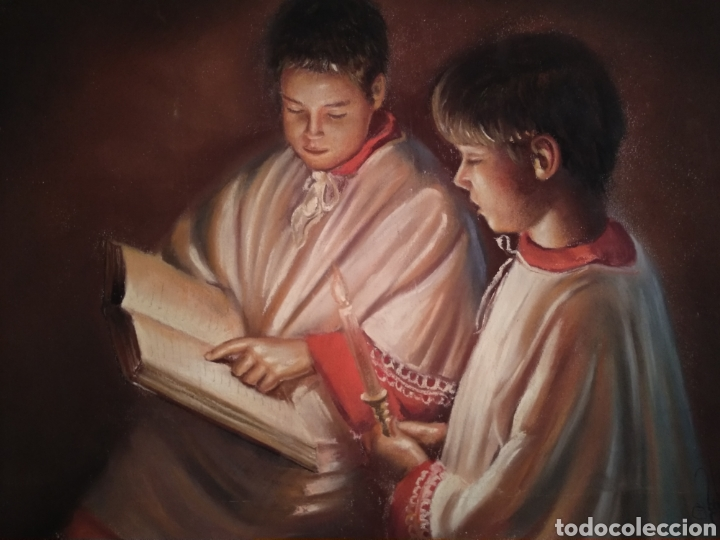 PRECIOSOS MONAGUILLOS (Arte - Arte Religioso - Pintura Religiosa - Otros)