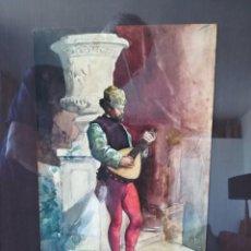 Arte: RAMON ALORDA ACUARELA. Lote 197834088