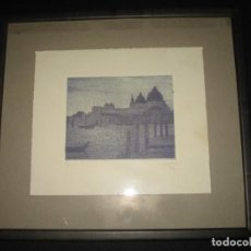 Arte: LITOGRAFIA VENECIA DE CONCHA IBAÑEZ. Lote 197889193