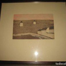 Arte: LITOGRAFIA LA MANCHA DE CONCHA IBAÑEZ. Lote 197900715