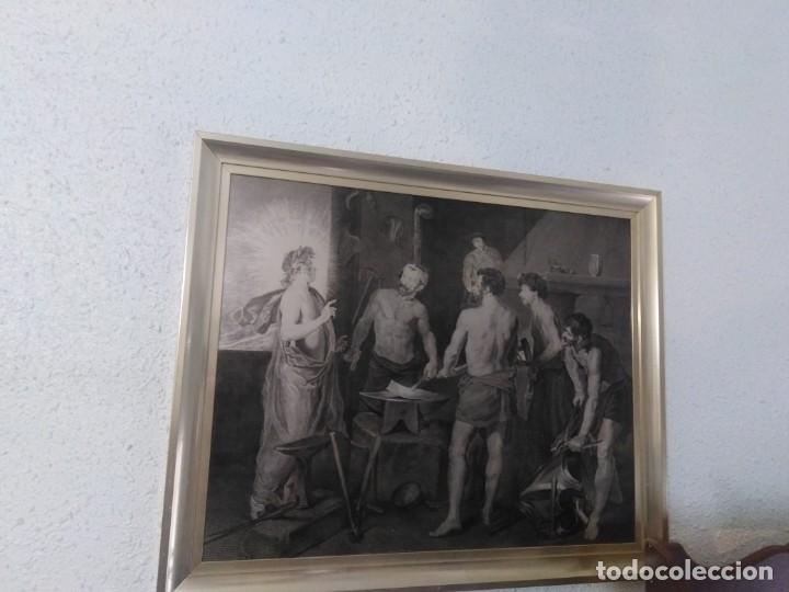 INTERESANTE CUADRO EN CHAPA (Arte - Arte Religioso - Pintura Religiosa - Otros)