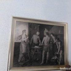 Arte: INTERESANTE CUADRO EN CHAPA. Lote 198092876