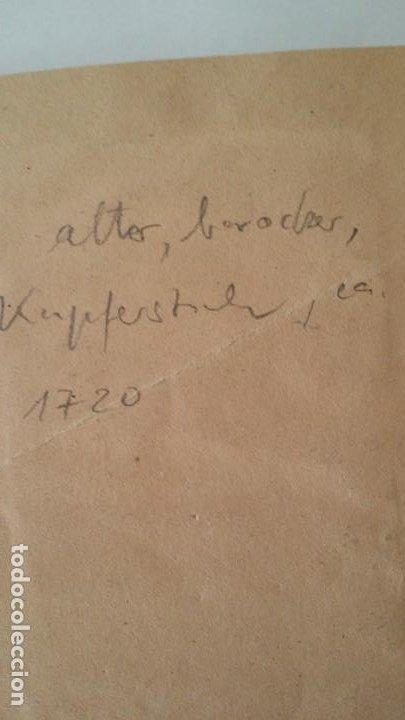 Arte: I.A. Fridrich, Cristo devoto, Jesús en la cruz, dos grabados de 1720 - Foto 6 - 198181972