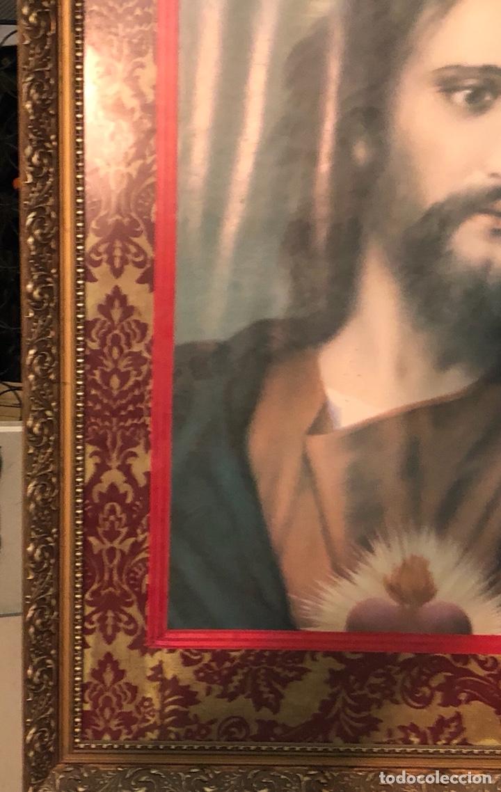 Arte: Bonito póster de un sagrado corazón, gran tamaño - Foto 4 - 198365725