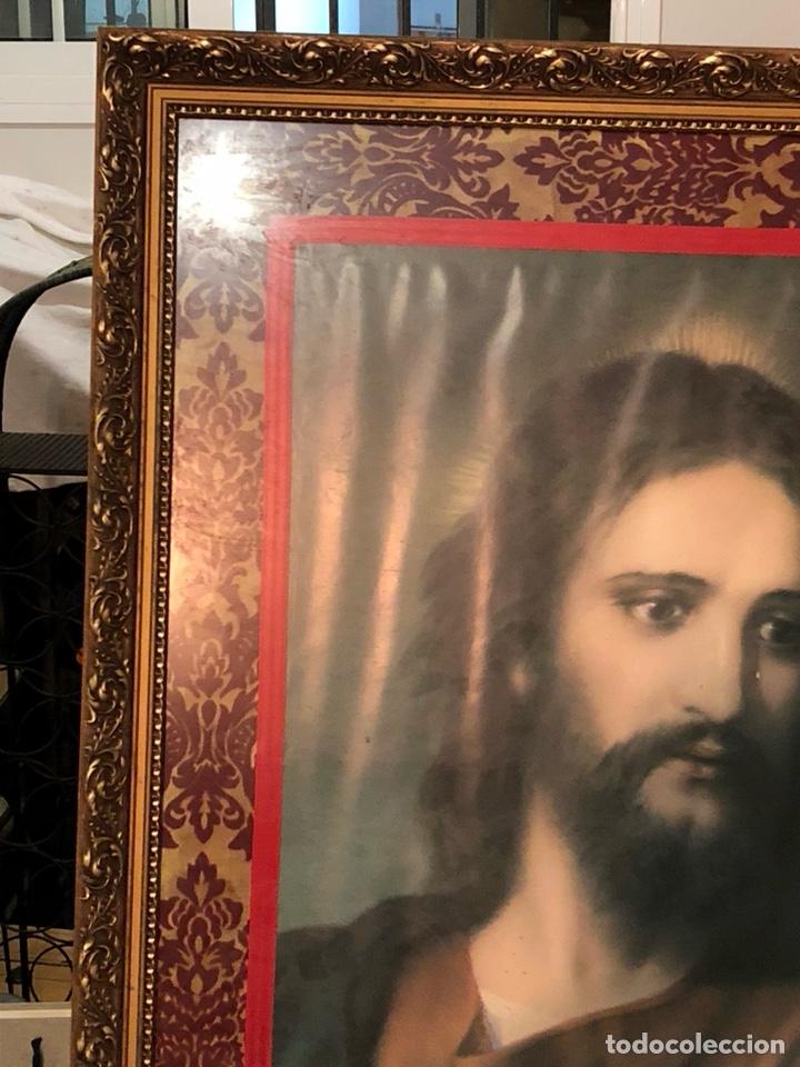 Arte: Bonito póster de un sagrado corazón, gran tamaño - Foto 5 - 198365725