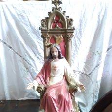 Art: CORAZÓN DE JESUS ANTIGUO. Lote 198404270