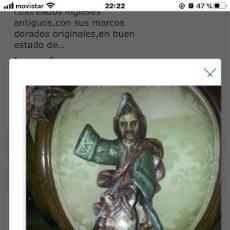 Arte: TALLA DE SANTIAGO DE MADERA. Lote 198462361