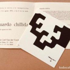 Arte: LITOGRAFIA DE EDUARDO CHILLIDA. Lote 198569212