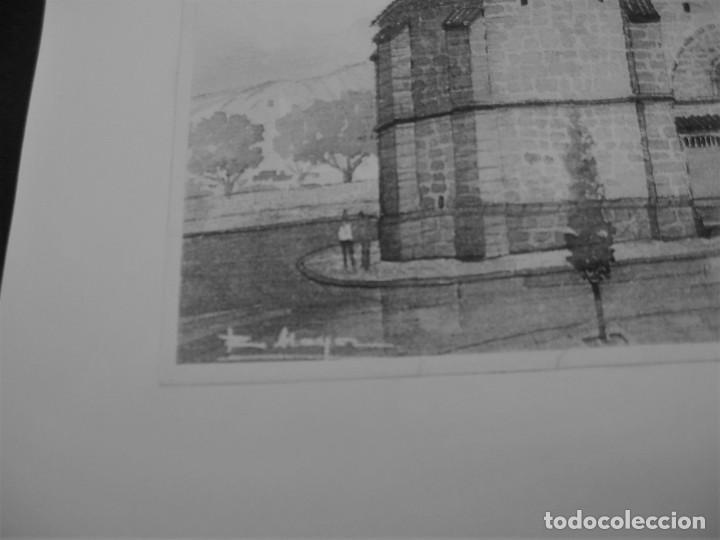 Arte: LAMINA DE UNA IGLESIA - Foto 3 - 198590710