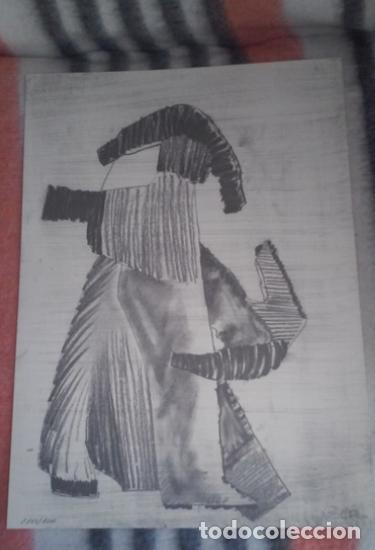 LITOGRAFÍA FRANCISCO LEIRO CON CERTIFICADO Y NUMERADA A LÁPIZ (Arte - Arte Religioso - Litografías)