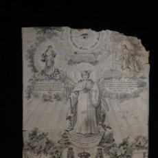 Arte: EL SANTO ANGEL PRINCIPE PROTECTOR DEL REYNO DE ESPAÑA. Lote 198923962