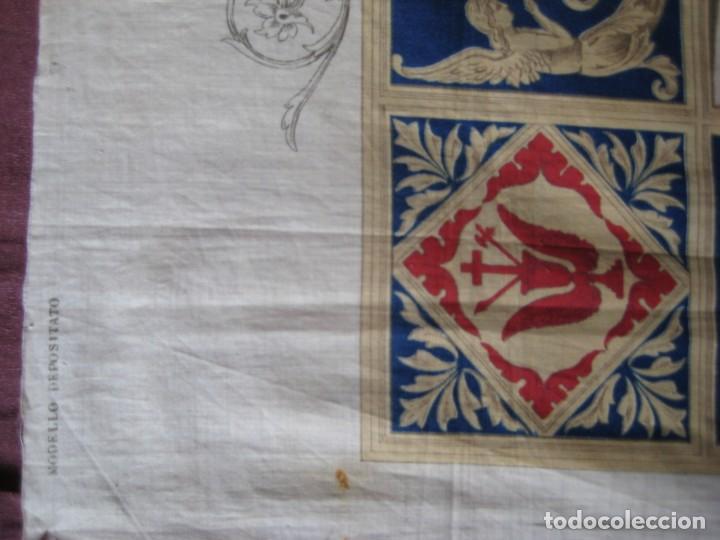 Arte: Grabado s.XIX Sábana Santa de Turín. Regalo invitados enlace real Victor Manuel III de Saboya. 1898 - Foto 21 - 199239845