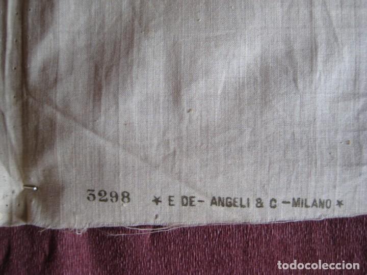 Arte: Grabado s.XIX Sábana Santa de Turín. Regalo invitados enlace real Victor Manuel III de Saboya. 1898 - Foto 24 - 199239845