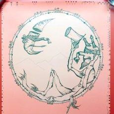 Arte: CARTEL PÓSTER JOAN PONÇ -1971 - GALERIE HACHETTE LONDRES - 74X42CM COMO NUEVO - DAU AL SET. Lote 199367936