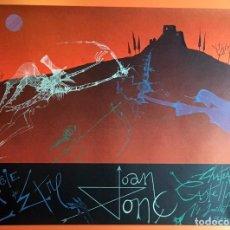 Arte: CARTEL POSTER JOAN PONÇ -1978 - MAGIE DE L'ETRE - CHATEAU CASTELLNOU - 76X56CM COMO NUEVO. Lote 199370847