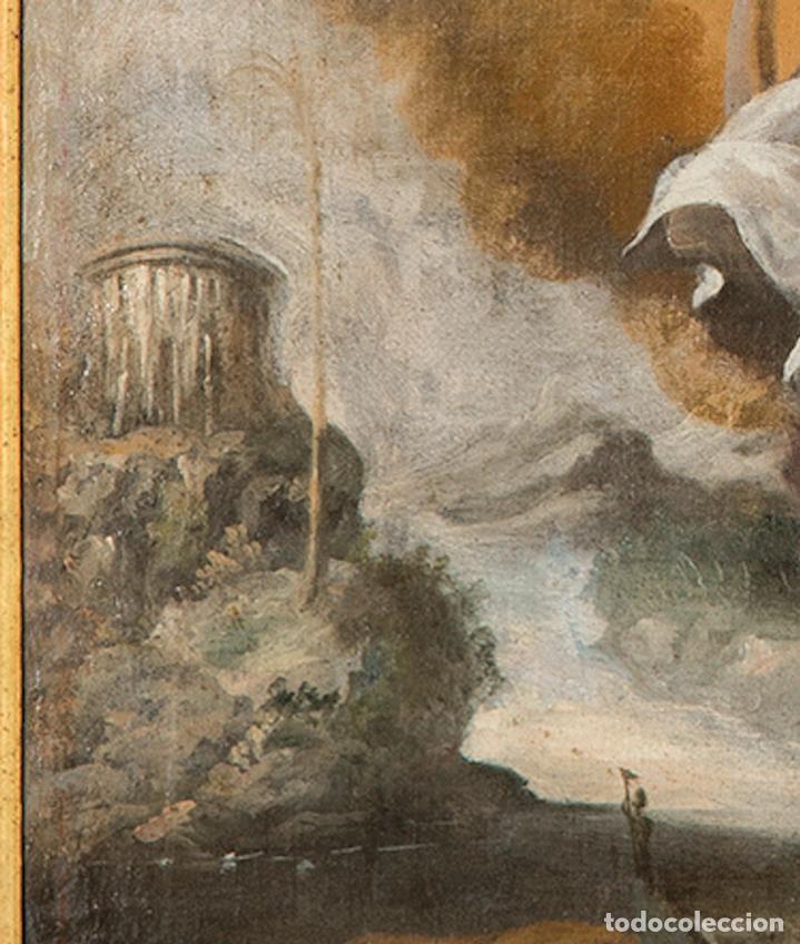 Arte: Óleo lienzo Inmaculada Concepción Ignacio de Ríes Sevilla ca. 1612 - Sevilla 1661 - Foto 11 - 196625065