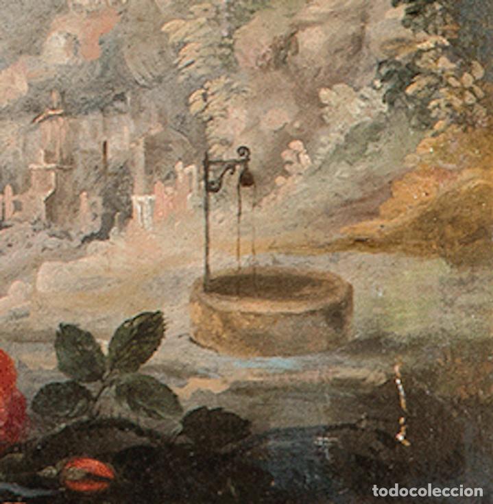 Arte: Óleo lienzo Inmaculada Concepción Ignacio de Ríes Sevilla ca. 1612 - Sevilla 1661 - Foto 13 - 196625065
