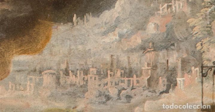 Arte: Óleo lienzo Inmaculada Concepción Ignacio de Ríes Sevilla ca. 1612 - Sevilla 1661 - Foto 15 - 196625065