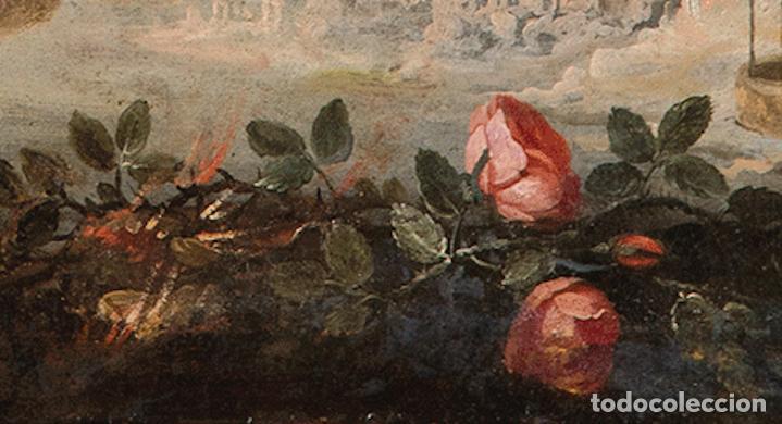 Arte: Óleo lienzo Inmaculada Concepción Ignacio de Ríes Sevilla ca. 1612 - Sevilla 1661 - Foto 16 - 196625065