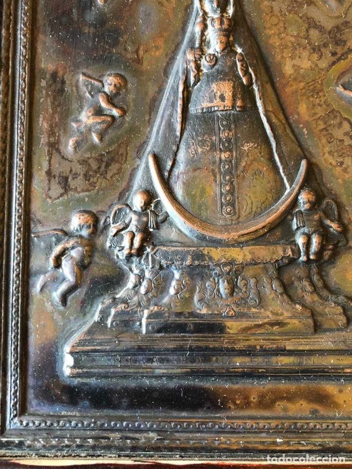 Arte: Placa enmarcada de la virgen de Begoña - Foto 3 - 199873083