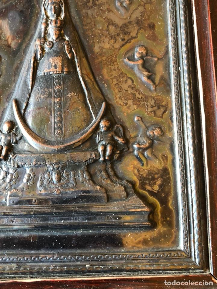 Arte: Placa enmarcada de la virgen de Begoña - Foto 4 - 199873083