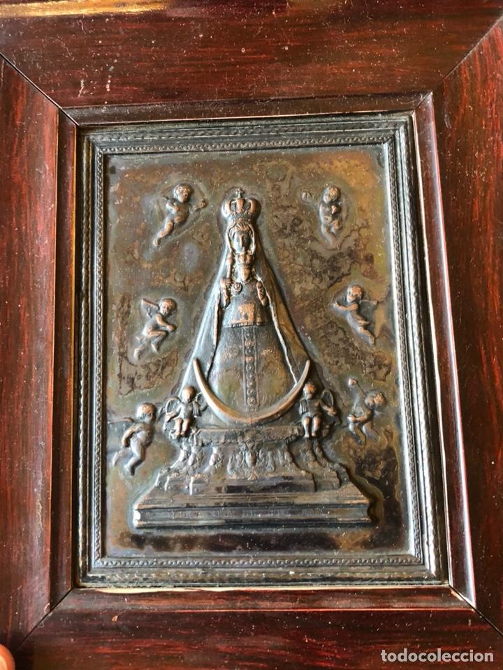 PLACA ENMARCADA DE LA VIRGEN DE BEGOÑA (Arte - Arte Religioso - Iconos)