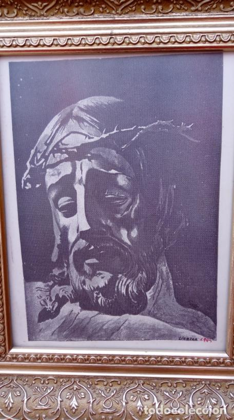 Arte: LITOGRAFÍA LÁMINA ANTIGUA. -SAN JERÓNIMO-. DIM.- 37.5X31.5 CMS. FIRMADO.- LINARES-X-68.-A - Foto 7 - 200024863